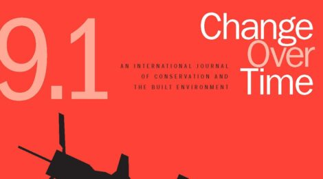 Change Over Time Announces the launch of issue 9.1 Heritage of War