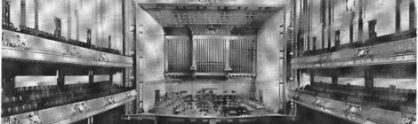 Concert Hall Acoustics and the Sounding Heritage of the Interwar Period in America: The Coolidge Auditorium (Library of Congress, Washington, DC, 1925) | Mark A. Pottinger